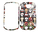 Animal Kingdom Design Rubberized Snap-on Protective Cover Case for Samsung Brightside U380