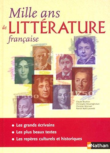 1000 ans de Littérature française