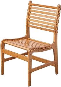 Ottomans Bamboo Folding Chair Dining Chair Office Chair Portable Bamboo Chair Solid Bamboo Sofa Chair Back Chair Beach Chair DELICATEWNN