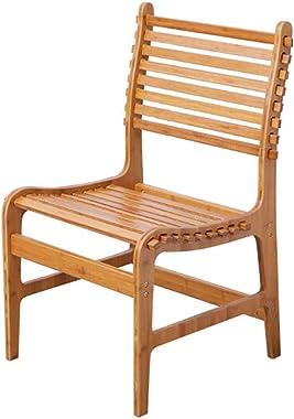 Ottomans Bamboo Folding Chair Dining Chair Office Chair Portable Bamboo Chair Solid Bamboo Sofa Chair Back Chair Beach Chair