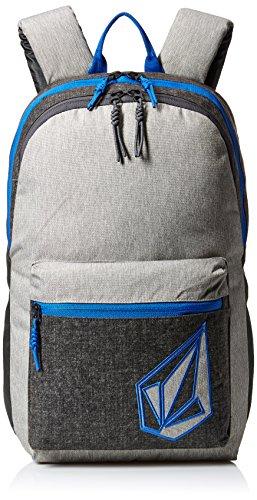 Volcom Academy, Bolsa para Hombre, Gris (Heather Grey), 14x30x45 cm (B x H x T)