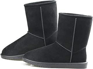 Women's Winter Snow Boots Mid-Calf Waterproof Pull On Anti Slip Classic Short Boots L9