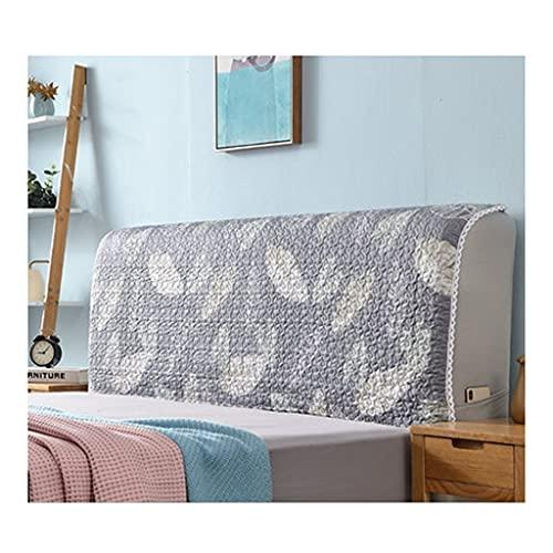 Sänggavel Skydd Säng Dammsäkert För Barn Vuxna Sovrum Sängar Skyddande Filtskydd Huvud Av Anti-damm Tvättbart Sängöverdrag Allomfattande Sängöverdrag (Color : P, Size : 220cm)