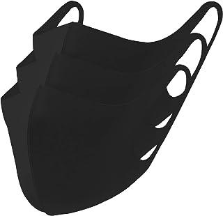 冷感マスク 3枚組 マスク 立体 洗えるマスク 防風 布 立体マスク 洗える mask ますく 3枚入り ユニセックス 抗菌 防臭 薄手 (S M L サイズ)