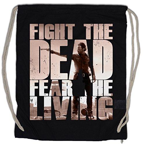 Urban Backwoods Fight The Dead Fear The Living II Turnbeutel Sporttasche