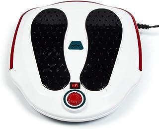 リモコン フットマッサージ機、ABS素材、電気指圧式フットマッサージャー(熱、深練り、ローリング、および空気圧縮)、Fe家庭用およびオフィス用 インテリジェント, white