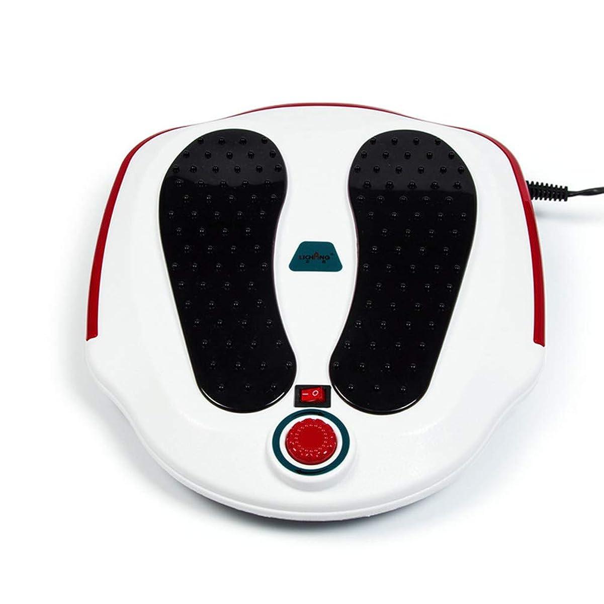 衝突コース管理限定調整可能 フットマッサージ機、ABS素材、電気指圧式フットマッサージャー(熱、深練り、ローリング、および空気圧縮)、Fe家庭用およびオフィス用 リラックス, white