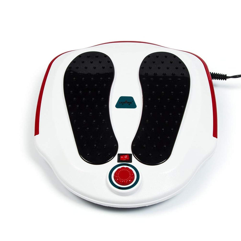 翻訳するシェフ明確なフットマッサージ機、ABS素材、電気指圧式フットマッサージャー(熱、深練り、ローリング、および空気圧縮)、Fe家庭用およびオフィス用, white