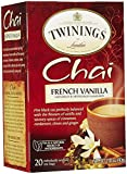 Twinings French Vanilla Chai, 20 ct (2 Pack)