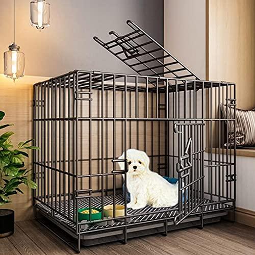 Caja De La Jaula De Perro Caja Plegable De Metal Para Mascotas...