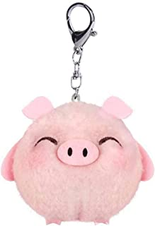 Stainless Steel Animal Keyring Heart//Pig//Cat//Crane//Fish//Dog//Unicorn Key Chain