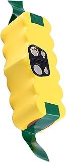 Vindoo 互換 ルンババッテリー 3800mAh ルンバ用バッテリー ルンバ 14.4v バッテリー ルンバ500 600 700 800 900 シリーズ対応 掃除機用交換バッテリー 14.4V ニッケル水素電池 長時間稼動 大容量 長寿...