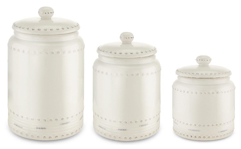 white kitchen canisters amazon com rh amazon com