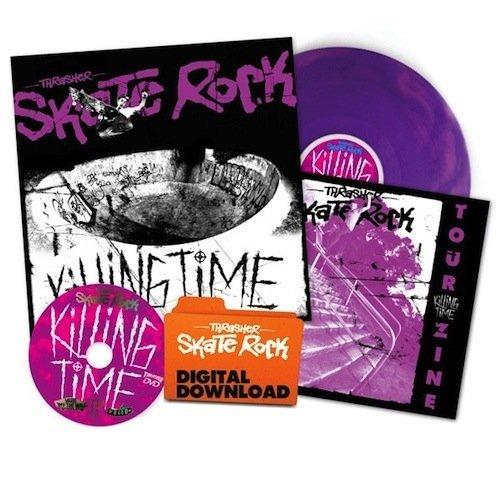 Thrasher Killing Time Skate Rock Collectors Edition DVD/Album (NEW)