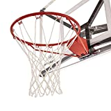 Silverback Standard Breakaway Rim with Nylon Net Compatible and Goaliath Portable Basketball Hoops