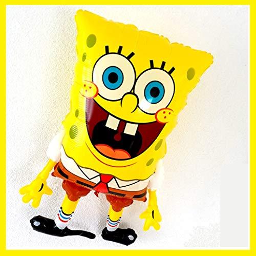Spongebob Schwammkopf Folienballon Party und Dekoration Deko Folien Ballon Super Shape Kinder Geburtstag