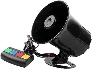 VideoPUP 12V Motorcycle Four-Tone Speaker, Motorcycle Waterproof Tweeter Kit