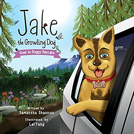 Jake the Growling Dog Goes to Doggy Daycare