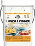 Augason Farms Lunch & Dinner Emergency Food Supply 11 lbs 11.2 oz 4 Gallon Pail (Pack of 1)