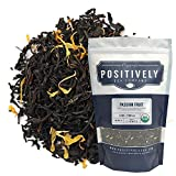 Positively Tea Company, Organic Passion Fruit Black Tea, Loose Leaf, 1 Pound Bag