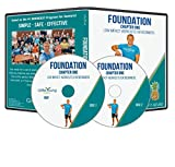 Grow Young Fitness Chair Exercises for Seniors - Two Disc Foundation DVD - Simple Safe Effective Back to Basics Workout DVD for Elderly
