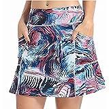 BXBX Ropa de Golf Primavera y Verano Nuevas Faldas de Golf Faldas de Tenis Ocio Falda de Deportes de Moda 0505 (Color : Dark Blue, Size : XXX-Large)