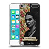 Official Frida Kahlo I Love You Portraits And Quotes Soft Gel Case Compatible for Apple iPod Touch 5G 5th Gen