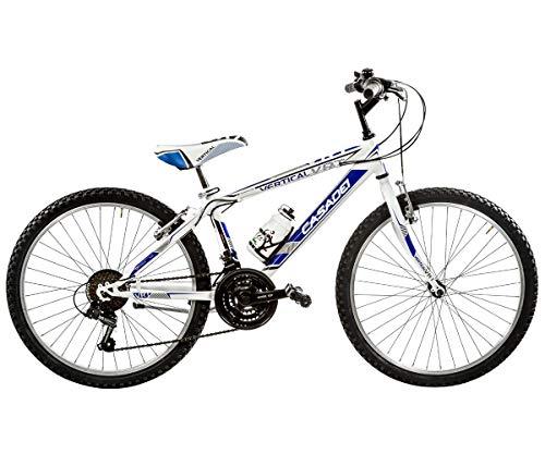 Casadei Bicicletta Bambino MTB 24 Vertical 18V Nero/Giallo Fluo