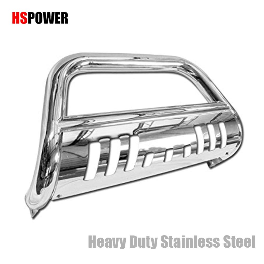 HS Power Heavyduty Steel Black Bull Bar Bumper Guard Push Grill Grille 1998-2011 for Ford Ranger