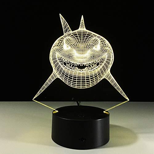 Scheinwerfer der transparenten Acrylnachtlicht-LED des Licht-3D der Scheinwerfer 3D visuelle Lampe Lampa-Farbe die Noten-Tisch-bauchende Lambas-Lampe 3d ändert