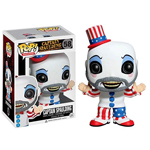 Hmy Pop Figur House of 1000 Corpses - Captain Spaulding Sammlerstück Vinyl Figur aus Horror Movie Serie Anime