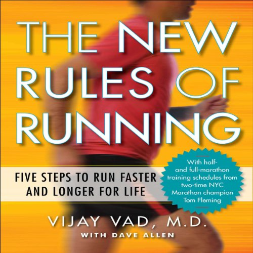 The New Rules of Running audiobook cover art