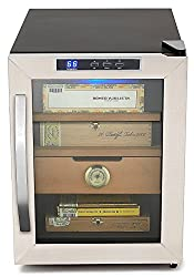 Whynter CHC-120S Stainless Steel 250-Cigar Cooler Humidor