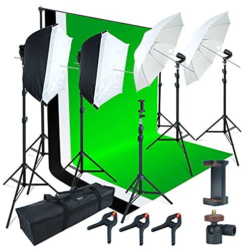 Linco Lincostore Photo Video Studio Light Kit AM169 - Including 3...