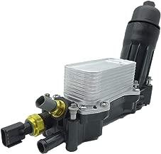 Engine Oil Filter Adapter Housing,Oil Cooler for 2014-2017 Jeep Dodge Chrysler Ram 3.6 V6 68105583AF
