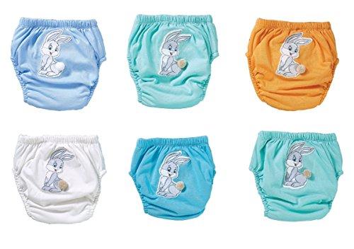 Ozyol HASE 6-pack waterdichte baby leerluier trainingsbroek ondergoed luiers luier broek voor toilettraining pannentraining