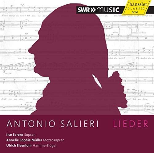 Salieri : Lieder. Eerens, Müller, Eisenlohr.