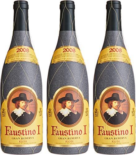 Faustino I Gran Reserva Rioja Vinos Tempranillo 2008 Trocken (3 x 0.75 l)