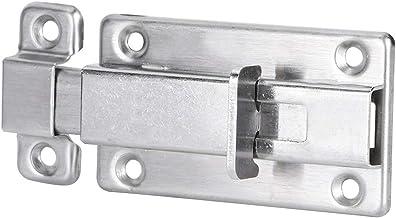 Huis Sloten 4 Stuks 7.6 Cm Rvs Deur Bolt Security Guard Anti-Dief Deurklink Thuis Kabinet Ladekast Garderobe Hasp Lock Bev...