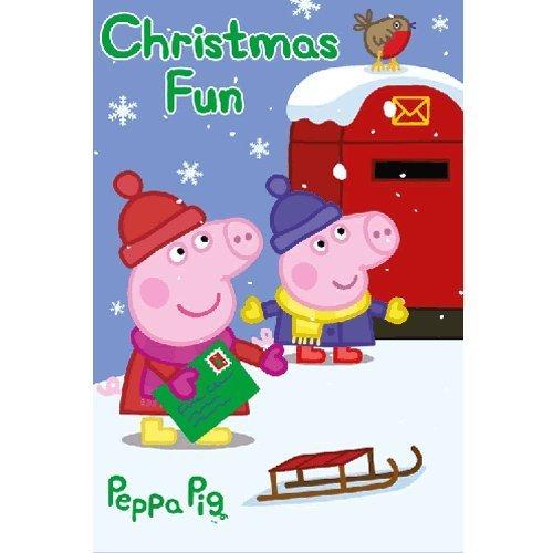 Peppa Pig Tarjeta de Navidad