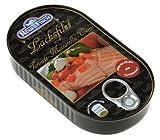 Rügenfisch Lachsfilet Tomate Mozarella Creme, 15er Pack (15 x 200 g Dose)