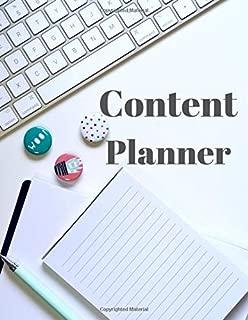 Content Planner: Social Media Content Calendar Business Posts Planner