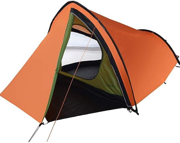 CATRP Marque Tente Tunnel Grand 2-3 Personnes Imperméable Prougeection UV De Plein Air Portable Tente De Camping