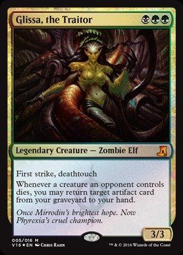 Magic: the Gathering - Glissa, the Traitor (005/016) - From The Vault: Lore - Foil by Magic: the Gathering