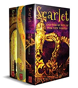 The Scarlet Hopewell Box Set: Books 1–3: The Keepers of Light, The Dragon's Burden, and The Queen of the New World by [Brandon Charles West]