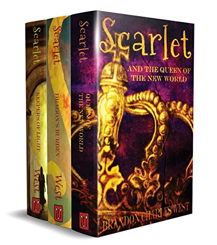 The Scarlet Hopewell Box Set: Books 1–3: The Keepers of Light, The Dragon