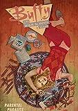 Buffy contre les vampires bricolage 5D kits de peinture au diamant de Noël, forage complet arbre de Noël strass diamant peinture pour débutant adultes diamant Arts décoration muralCarré 40×50cm