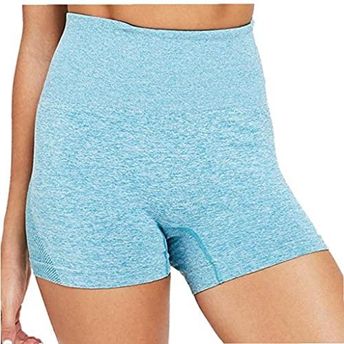 Yoga Yoga Pantalones Cortos para Mujer Leggings Cortos De Cintura Alta Sin...