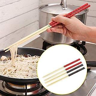 dealglad® 5 Paar Küche Bambus Hot Topf Nudeln kochen rutsc