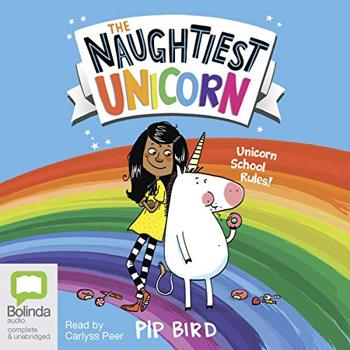The Naughtiest Unicorn audiobook cover art